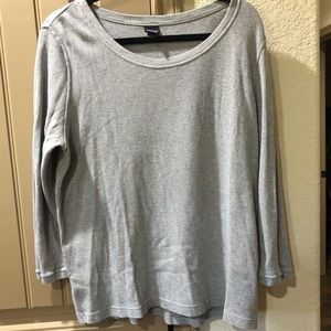 Patagonia Organic Cotten Grey Layering Shirt (XL)